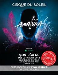 MONTRÉAL QC - Cirque du Soleil