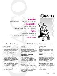 Stroller Poussette Coche - Graco