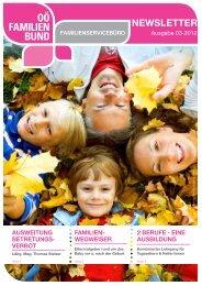 Newsletter_Ausgabe_3-2012 - OÖ Familienbund