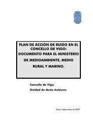 plan de acción de ruido en el concello de vigo - Sistema de ...