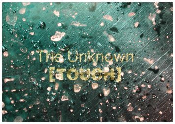 download booklet THE UNKNOWN /.pdf - Marc Behrens