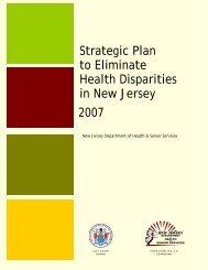 Strategic Plan to Eliminate Health Disparities in New Jersey