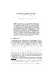 Revisiting Glue Expressiveness in Component-Based Systems