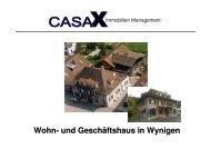 Dokumentation Wohn- und Geschaeftshaus ... - Myhomegate.ch