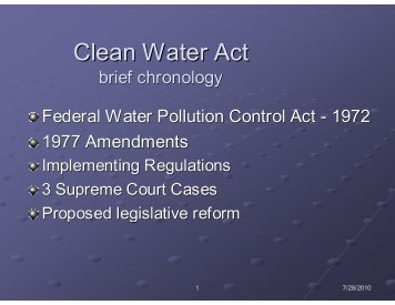 America's Commitment to Clean Water Act (H.R. 5088)