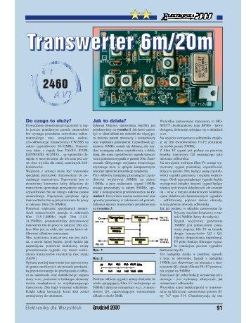Transwerter 6m/20m - Elportal