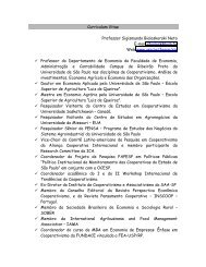 Curriculum Vitae Professor Sigismundo Bialoskorski Neto E-mail ...