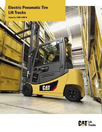 Electric Pneumatic Tire Lift Trucks - Kelly Tractor