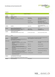 Green Meetings und Events Fachkonferenz 2011