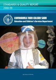 2008 - 09 (PDF 2.5M) - Comhairle nan Eilean Siar