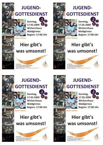 JUGEND - Evangelische Jugend im Dekanat Gladenbach