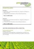 weitere sponsoring-möglichkeiten - Greenmeetings und Events - Page 7