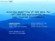 presentation - Aarhus Geophysics