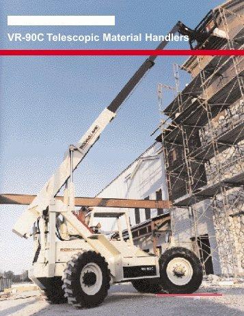 VR-90C Telescopic Material Handlers - CraneWorks