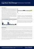 Legg Mason Multi-Manager Performance Fund (USD)* - Seite 2