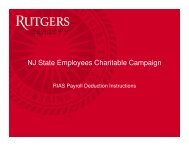 RIAS Payroll Deduction Instructions - University Relations