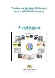 Produktkatalog, Stand April 2013 - und Hochbauverwaltung Baden ...