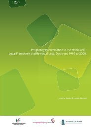 Pregnancy Discrimination in the Workplace: Legal Framework and ...