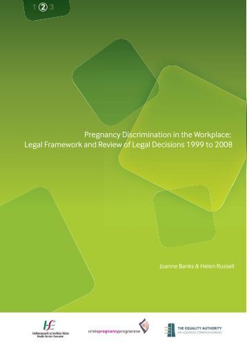 pregnancy discrimination in the workplace Throughout the american workplace, pregnancy discrimination remains  widespread it can start as soon as a woman is showing, and it often.