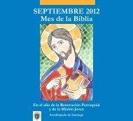 SEPTIEMBRE 2012 Mes de la Biblia