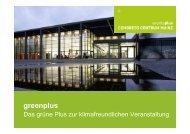greenplus - Congress Centrum Mainz