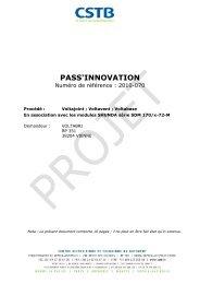 Pass Innovation - TALEV