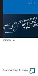 2012 Sommer-Uni - Deutsche Event Akademie