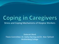 Stress and Coping Mechanisms of Hospice Workers