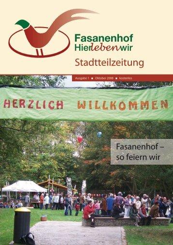 Stadtteilzeitung - Fasanenhof