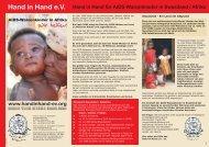 Hand in Hand e.V. - Hand in Hand: Hand in Hand eV Wiesbaden