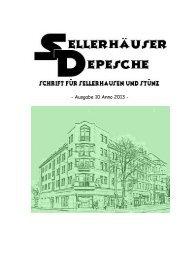 10. Sellerhäuser Depesche - Bürgerverein Sellerhausen-Stünz