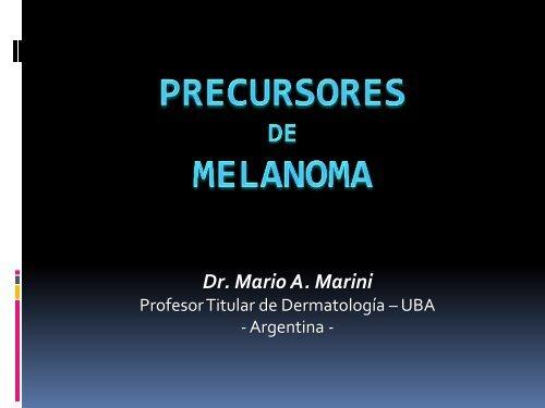 Precursores De melanoma