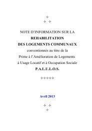 Logements communaux - Conseil général de Côte-d'Or