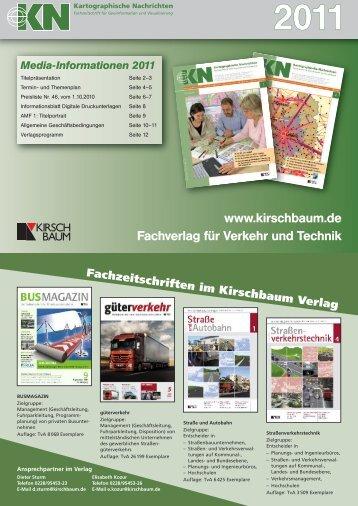 2011 - Kirschbaum Verlag Gmbh