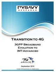 3GPP Broadband Evolution to IMT-Advanced - 4G Americas