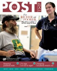 RICHER or POORER - UF Health Podcasts - University of Florida