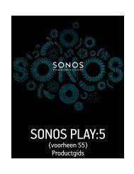 De SONOS PLAY:5 - Almando
