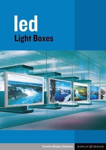 Light Boxes - Display Design