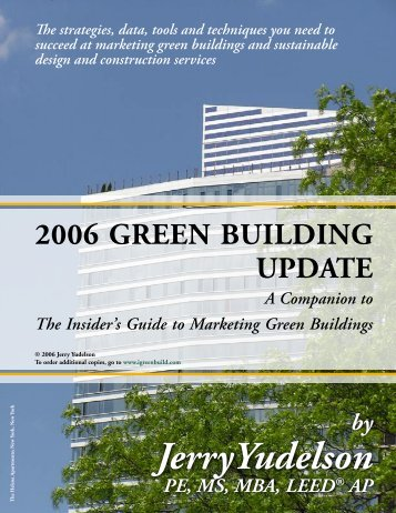 The strategies, data, tools and techniques you need - Green Build ...