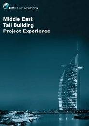 Middle East tall building project experience