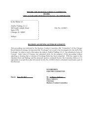 12-0015 Andrie Trading, L.L.C. - CBOE.com