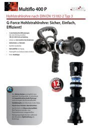 Multiflo 400 P Hohlstrahlrohr - Leader
