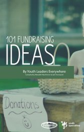 101 Fundraising Ideas - Youth Specialties