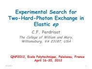 Charles Perdrisat - QNP2012