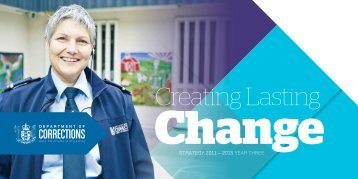 Creating Lasting Change 2011-2015 (Year three) - Department of ...