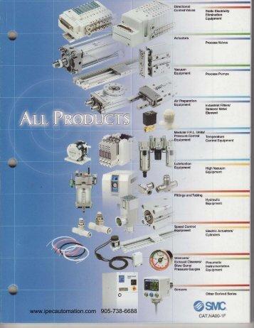 SMC Product Catalogue-pdf - IPEC Industrial Controls Ltd.