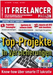 IT Freelancer Magazin Nr. 3/2013