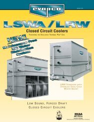 Closed Circuit Coolers - Tasman Cooling Towers