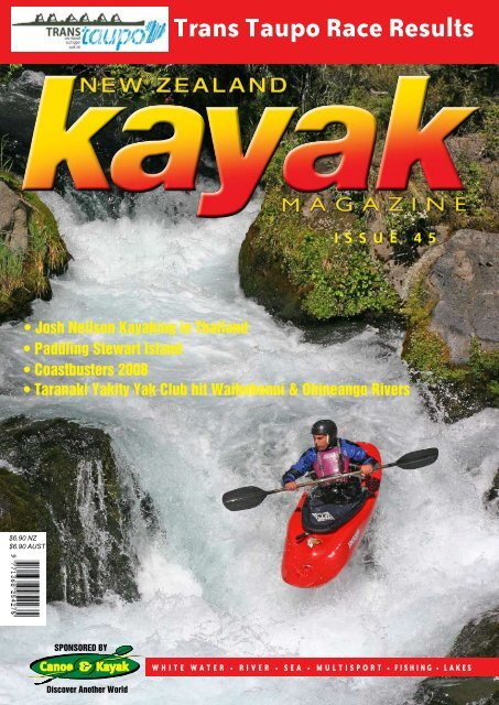 ISSUE 4 5 Trans Taupo Race Results - Canoe & Kayak