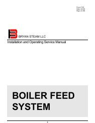 Groovy Form 2018 Water Boiler Start Up And Operation Bryan Boilers Wiring Cloud Usnesfoxcilixyz